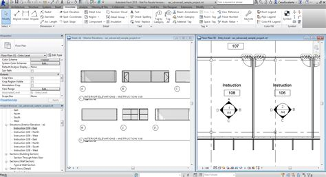 Revit Floor Plans by Ideate Solutions A B C D Elevation Marks