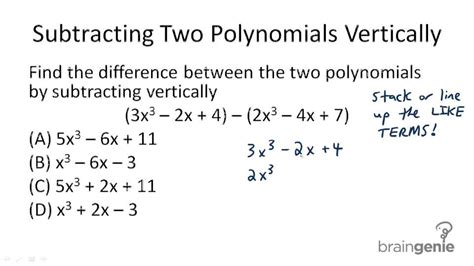Polynomial Word Problems Worksheet by Addition And Subtraction Of Polynomials Word Problems