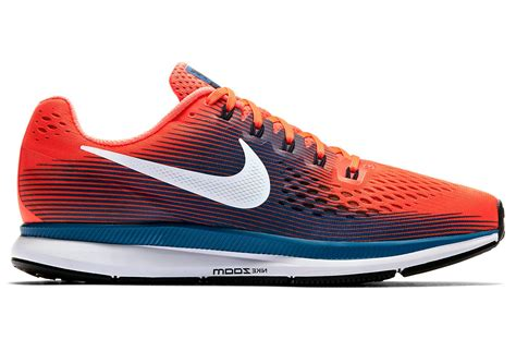 zoom pas a pas nike air zoom pegasus 34 shoes orange blue men alltricks com