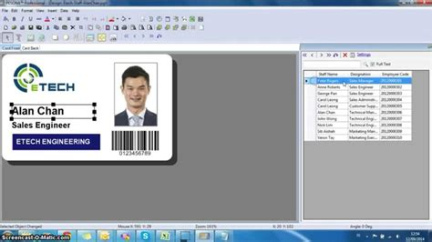 id card design software fargo database linking all id pesona card design software