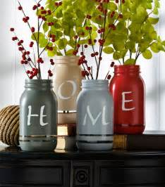 Home Decorators Collection Stores home painted mason jars diy home decor idea from j o