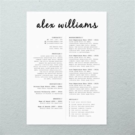 free fresher engineer resume cover letter template in microsoft word