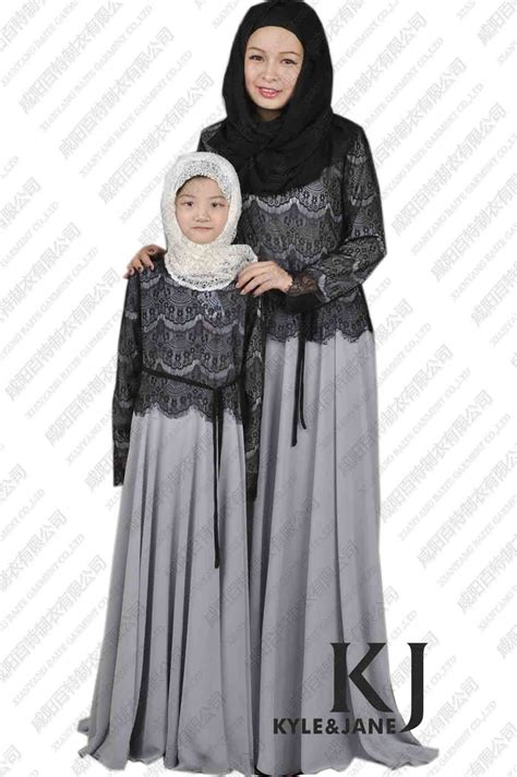 dresses new parent child abaya dress
