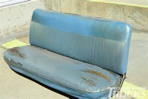 1965 ford f 100 bench seat restoration custom classic