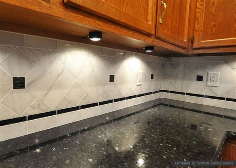 Stainless Steel Kitchen Backsplash by Black Countertop Backsplash Ideas Backsplash Com
