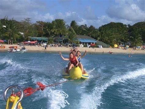 banana boat ride brighton great big mabel picture of malibu watersports barbados
