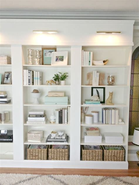 how to decorate bookshelves 17 best ideas about ikea built in on pinterest ikea