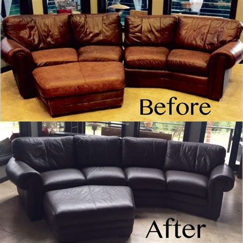 brown leather dye for couch how to dye a leather couch 10 steps with pictures wikihow