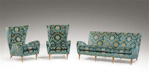 rivestire divani divano e coppia di poltrone con struttura in legno e