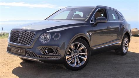bentley bentayga 2017 2017 bentley bentayga w12 start up road test in depth