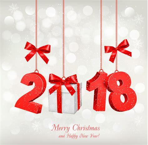 christmas card    gift box vector