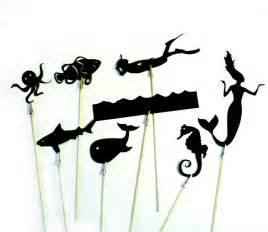 shadow puppet templates underwater shadow puppets felt