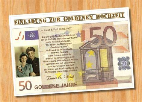 Originelle Einladungskarten Hochzeit by 10 Best Einladungskarten Zur Goldenen Hochzeit Images On