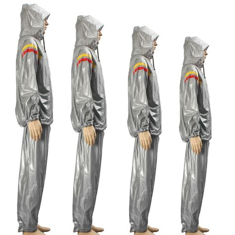 sports fitness sauna suit hoodie exercise hooded clothing slim sweat suit alex nld