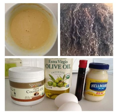 kurlee home hair recipes egg mayo treatment