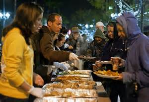 Should Food Be Left For The Homeless by Ucla Food Not Bombs Dishes Out Home Cooked Meals To The