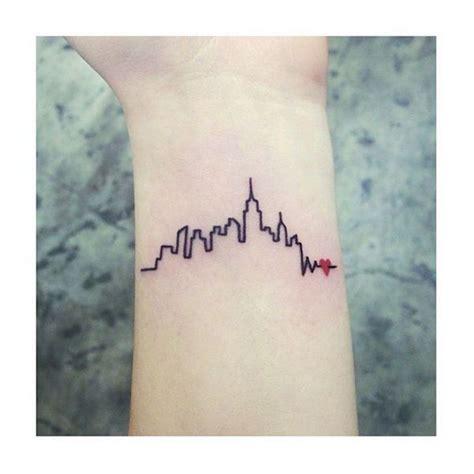 new york tattoo wrist the big apple gotham the city that never sleeps call it