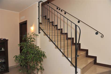 ringhiera in ferro battuto per scale interne ringhiera scale in ferro battuto garmilli fabbro verona