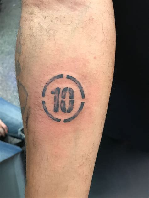 tattoo fonts for your wrist number 10 number st wrist lettering tattoos