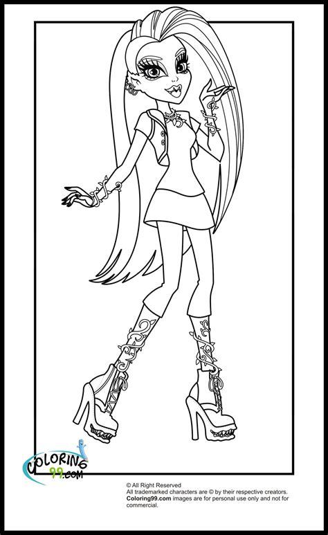 monster high venus coloring pages pin venus mcflytrap little girl monster high coloring page