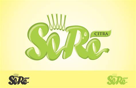 desain logo minuman sribu logo design desain logo untuk minuman teh serai