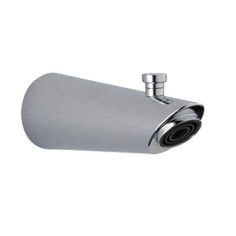 delta compel 7 in pull up diverter tub spout in chrome