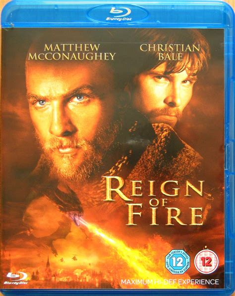 Reign Of Fire 2002 Film Fp Reign Of Fire 2002 Bluray