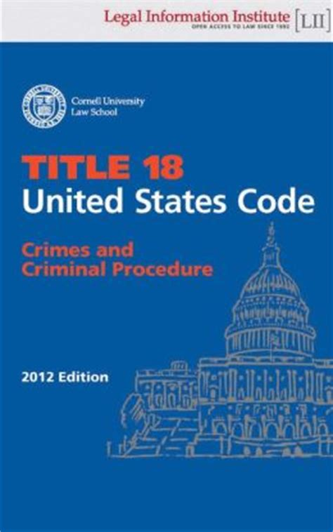 Egvaudepba Download United States Code Title 18 Crimes