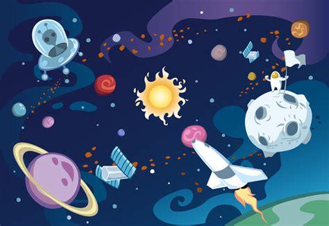 Galaxy Wall Murals cartoon galaxy wall mural amp photo wallpaper photowall