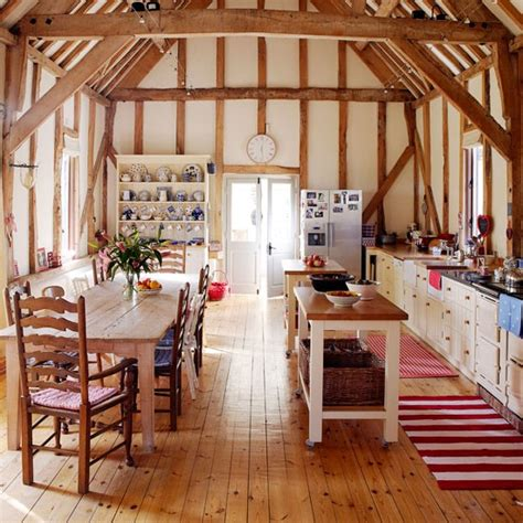 country homes and interiors rustic kitchen ideas ideal home