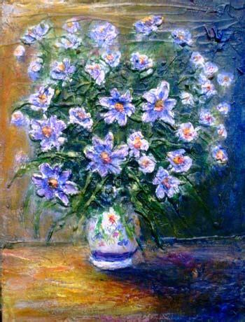pittori di fiori impressionismo moderno paesaggi toscani e fiori dipinti ad