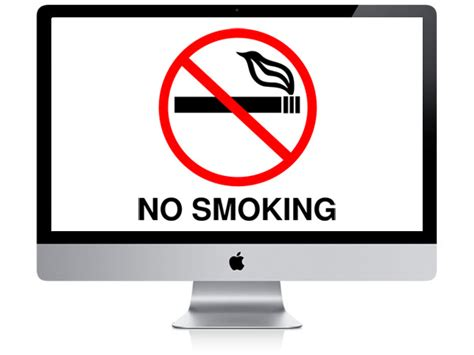 no smoking sign on mac startup smoking may void your apple warranty