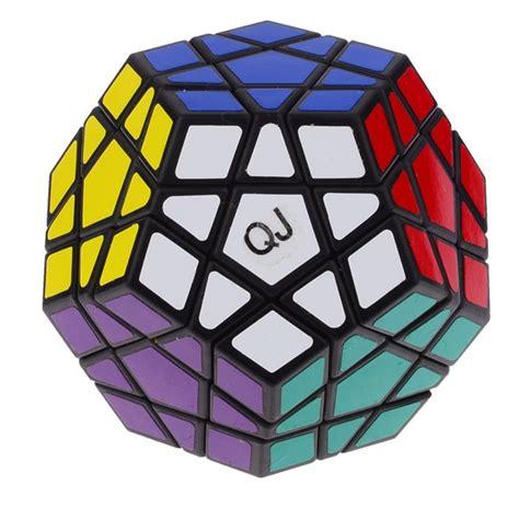 tutorial rubik megaminx qj 12 color megaminx magic cube stickered black megaminx