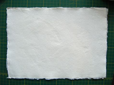 Handmade Cotton Paper - lizzie made the binding makes the book part three