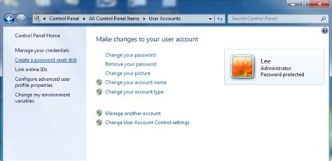 resetting windows sockets windows password recovery recover lost forgotten password
