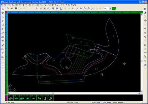 simple 2d drawing software simple 2d cad shoe parts sizes software buy shoe parts size software shoes size