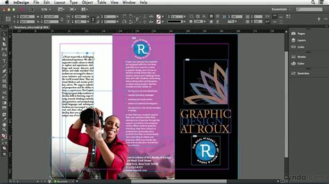 what is in a design indesign cc tutorial moving objects lynda