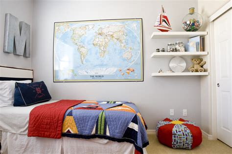 room mapping sumptuous floating corner shelves in kids eclectic with