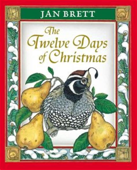 jan brett printable christmas cards the twelve days of christmas by jan brett 9780399220371