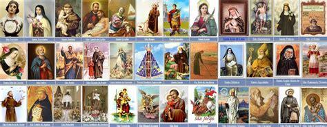 calendario de los santos catolicos santo do dia universo da f 233