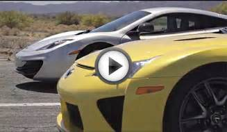 Race Between Bugatti And Bugatti Veyron Vs Lamborghini Aventador Vs Lexus Lfa Vs