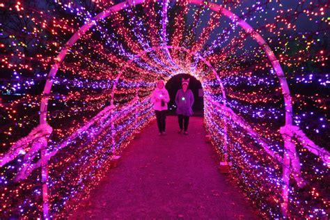 st louis botanical gardens lights missouri botanical gardens 2015 garden glow 171 cbs st louis
