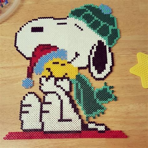 hama snoopy 2225 best images about patterns on perler bead
