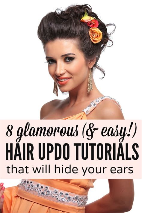 haircuts for to hide hearing aids 8 glamorous easy hair updos that will hide your ears