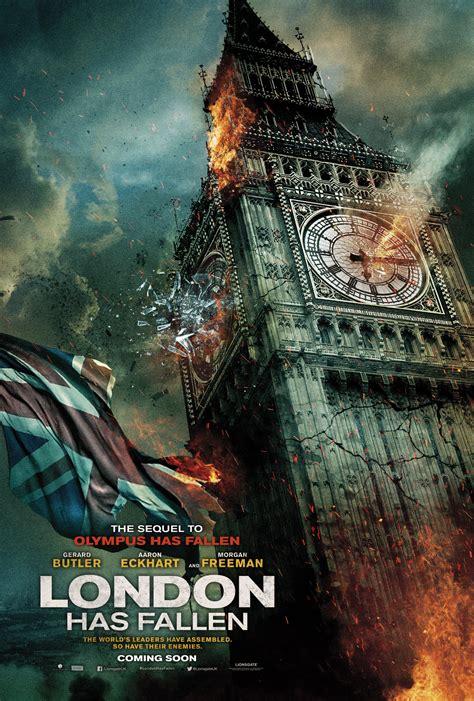 film london has fallen gratuit poster london has fallen 2016 poster cod roşu la