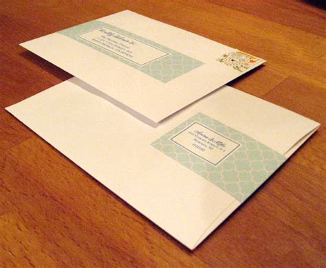 Wrap Around Mailing Labels Wedding