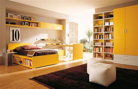 Designer Bedroom Colors Modern Bedroom With Yellow Color Dands