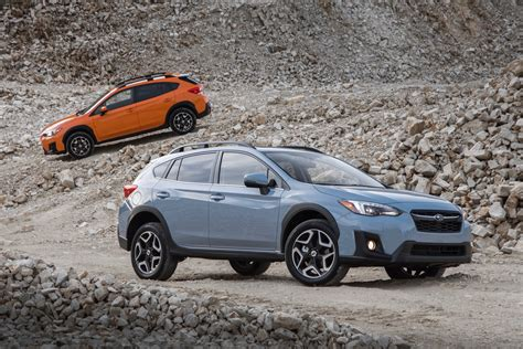 orange subaru crosstrek 2018 subaru crosstrek review