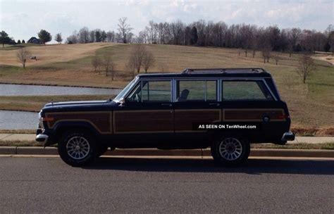 1990 Jeep Grand Wagoneer 1990 Jeep Grand Wagoneer Base Sport Utility 4 Door 5 9l