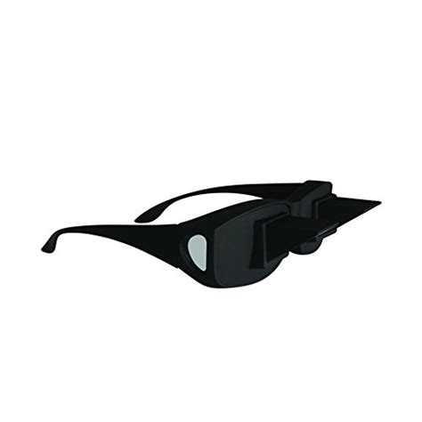 evelots prism bed specs laying in tv book reading glasses